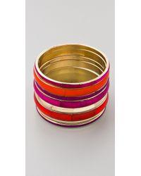 Antik Batik - Pink Vanilla Bracelet Set - Lyst