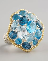 Lagos - Ombre Ring, Blue Topaz - Lyst