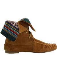 Steve Madden | Brown Tblanket Moc Boot | Lyst