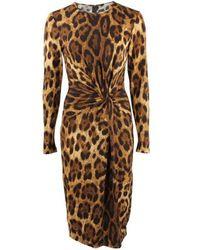 Michael Kors | Brown Dress | Lyst