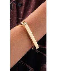 A.L.C. | Metallic Handcuff Bracelet | Lyst