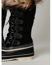 Free People - Black Joan Of Arctic Boot - Lyst