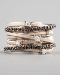 Marco Bicego - Metallic Goa Black Diamond Ring - Lyst