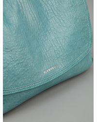Givenchy | Blue Front Flap Handbag | Lyst