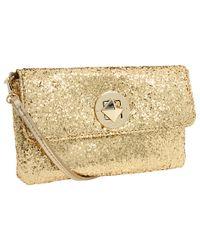 kate spade new york | Metallic Sparkler Missy Crossbody Bag | Lyst