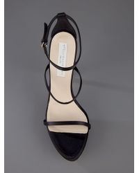 Stella McCartney   Black Strap Shoe   Lyst