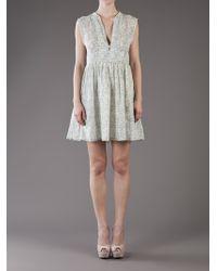Giada Forte   Green Print Dress   Lyst