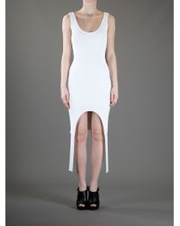 Givenchy | White Cutout Panel Dress | Lyst