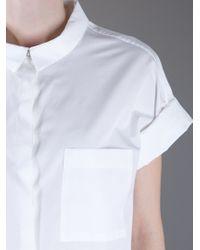 Jil Sander   White Lorena Shirt   Lyst