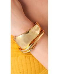 Alexis Bittar - Metallic Liquid Gold Orbit Cuff - Lyst