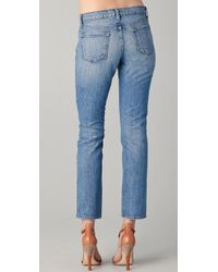 J Brand | Blue Aidan Slouchy Boy Jeans | Lyst