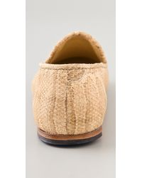 Surface To Air - Natural Blade Embossed Slippers - Lyst