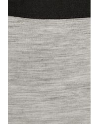 By Malene Birger - Gray Kasila Wool-jersey Maxi Skirt - Lyst