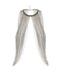 TOPSHOP - Metallic Maximums Body Chain Necklace - Lyst
