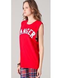 Ksubi | Red Danger Baddies Muscle Tank | Lyst