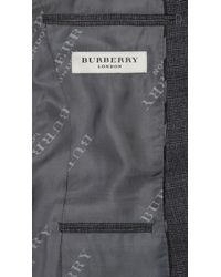 Burberry | Gray Slim Fit Wool Suit for Men | Lyst