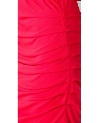 Halston Heritage | Red Off The Shoulder Dress | Lyst