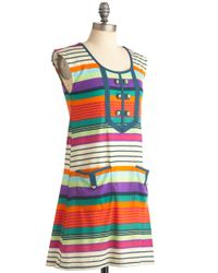 ModCloth   Multicolor Summer Sunset Dress   Lyst