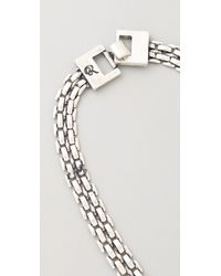 Rachel Leigh - Metallic Tallulah Metal Layer Necklace - Lyst