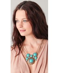 Rachel Leigh - Blue Statement Pendant Necklace - Lyst