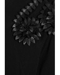 Day Birger et Mikkelsen - Black Bourbon Embellished Crepe Top - Lyst