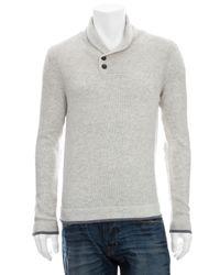 Rag & Bone | Beige Sussex Patch Pullover for Men | Lyst