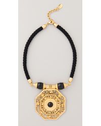 Theodora & Callum | Black Bodrum Necklace | Lyst