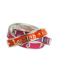Vivienne Westwood - Red Vwr011 Too Fast To Live Ring - Lyst