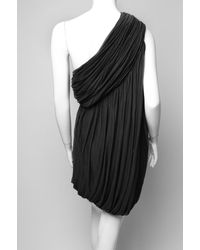 Rick Owens | Black Oneshoulder Dress | Lyst