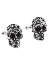 King Baby Studio | Metallic Day Of The Dead Cufflinks for Men | Lyst