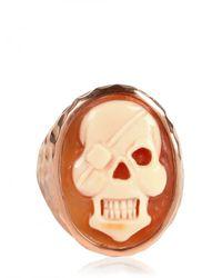 Amedeo | Natural Skull Ring | Lyst