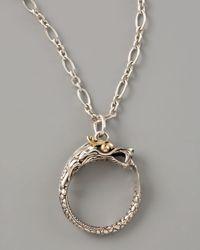 John Hardy   Metallic Dragon Pendant Necklace 18l   Lyst
