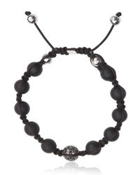 Shamballa Jewels - Black Bracelet for Men - Lyst