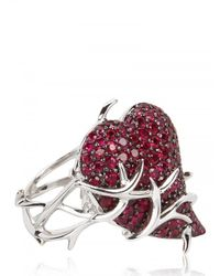 Shaun Leane | Red Poison Ring | Lyst