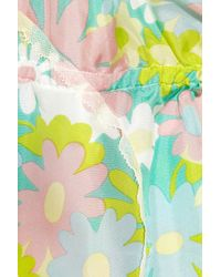 Marni - Multicolor Floralprint Silk Camisole - Lyst