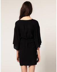 Cheap Monday - Black Dress With Deep Pockets - Lyst