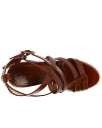 Burberry | Brown Bridle Winchester Espadrille | Lyst