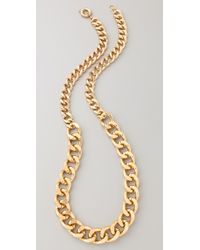 By Malene Birger | Metallic Chunky Chain Necklace Belt | Lyst