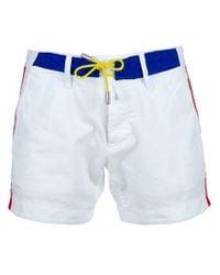DSquared² | White Sport Shorts for Men | Lyst
