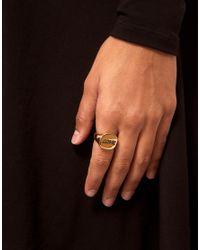 Love - Metallic Asos Sovereign Ring - Lyst