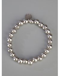 Philippe Audibert - Metallic Silver Ball Bracelet - Lyst