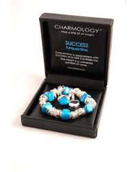 Charmology | Blue Charmology Success Rings Bracelet with 3 Charms | Lyst