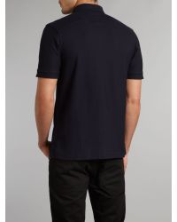 Fred Perry | Blue Slim Fit Penny Collar Polo Shirt for Men | Lyst
