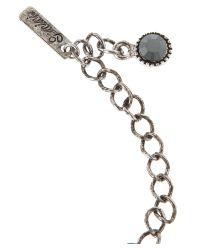 Gemini | Black Bracelet with Swarovski Crystals | Lyst