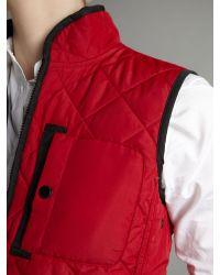 Lauren by Ralph Lauren | Black Anastasia Reversible Vest | Lyst