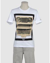 Maesna | White Short Sleeve T-shirt for Men | Lyst