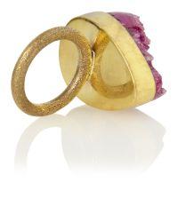 Mary Portas - Purple Amethyst Ring - Lyst