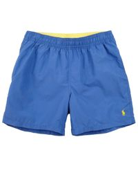 Polo Ralph Lauren | Royal Blue Classic Swim Shorts for Men | Lyst