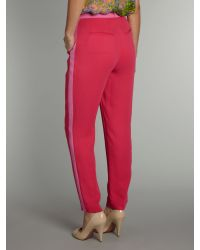 Whistles | Pink Wren Tailored Trouser | Lyst