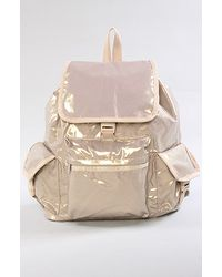LeSportsac - Metallic The Voyager Backpack in Brilliant Sparkle - Lyst